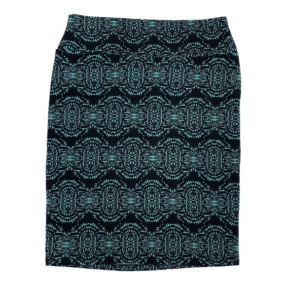 LuLaRoe Stretchy Pencil Skirt Large B206